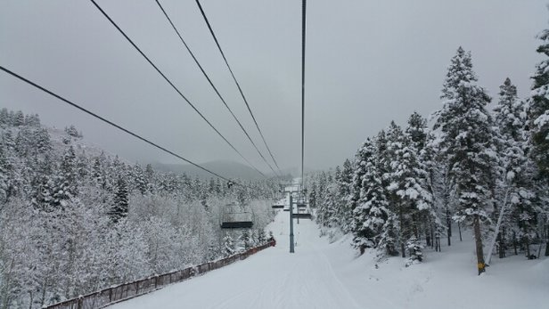 Angel Fire Resort - The snow was so good today I could die of happiness! - ©Ally
