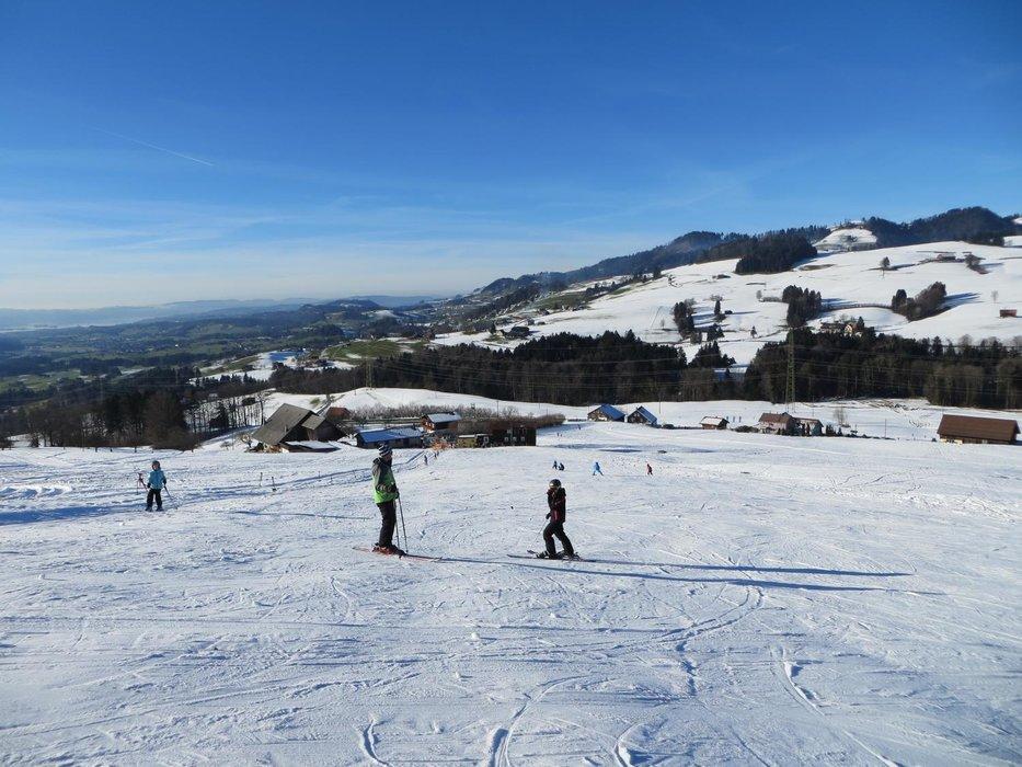 Der Blick über das Skigebiet Skilift Bildhaus - ©Skilift Bildhaus