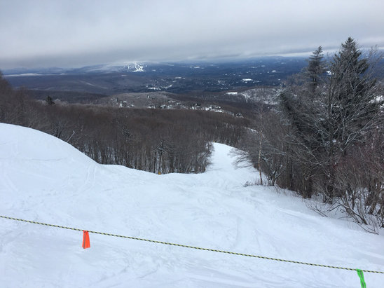 Stratton Mountain - Jan 19: great day in Stratton. - ©Dino's iPad
