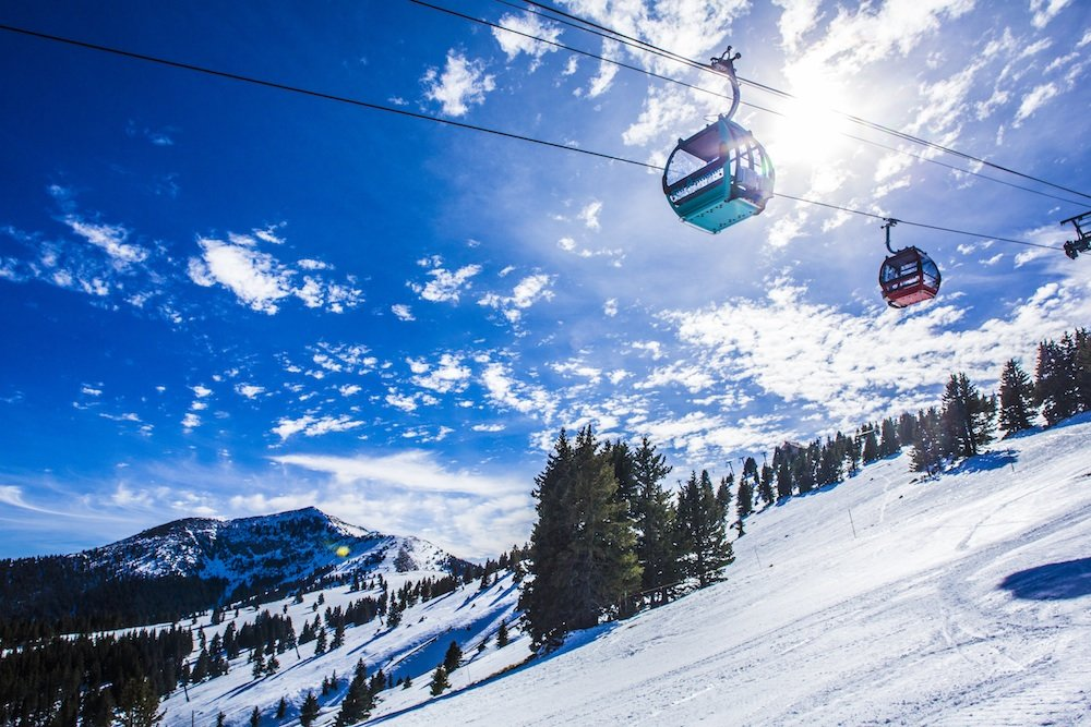 Warm, bluebird days aren't hard to come by. - ©Ski Apache