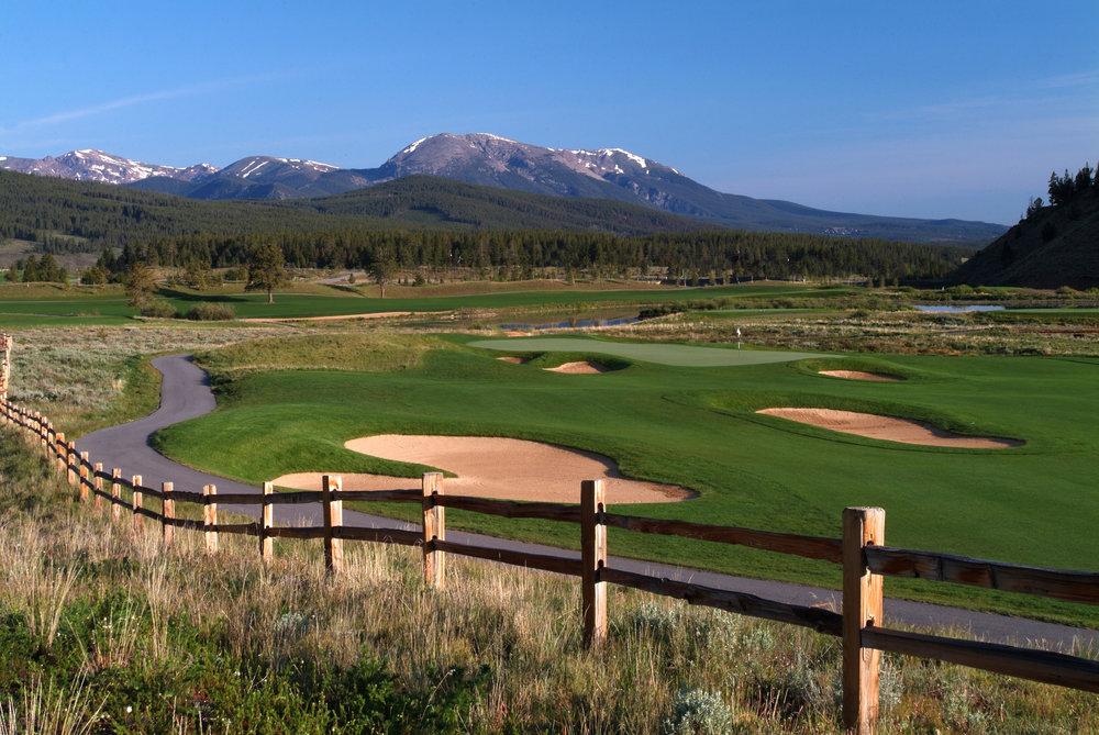 Breckenridge CO Golf Club - Bob Winsett