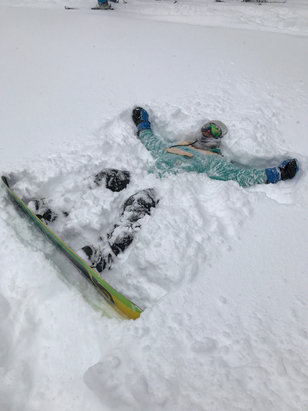 Brighton Resort - This place is getting so much snow! I can't stop riding the freshi !!! Loving me some Brighton   - ©Big B