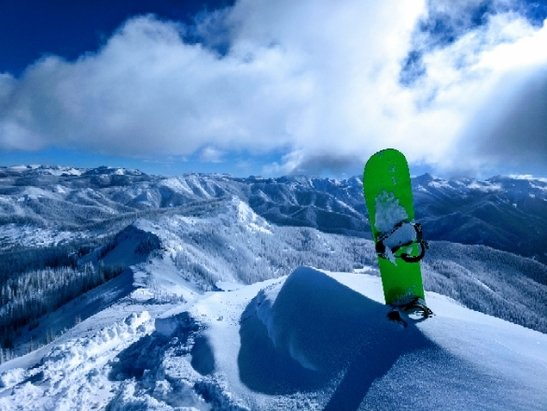 Wolf Creek Ski Area - top of Alberta peak - ©hashy larry
