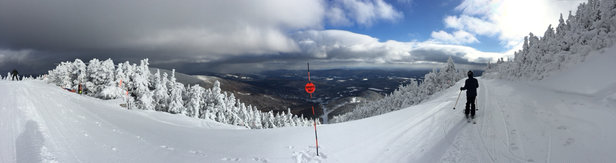 Sugarbush - Fantastic skiing today.  At least 6
