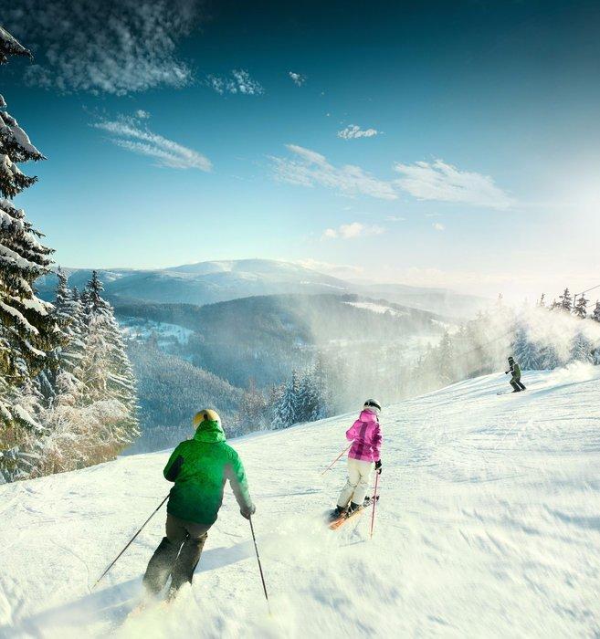 Vždy velmi dobře upravené sjezdovky Skiareálu Herlíkovice - Bubákov - ©Snowhill, a.s.