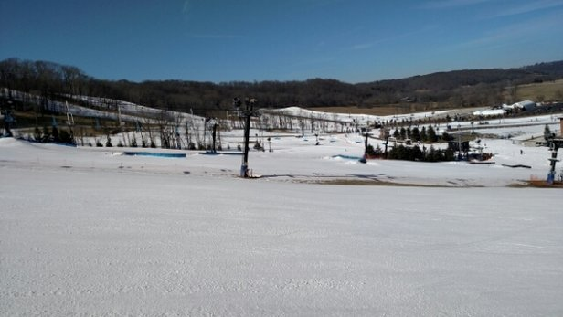 Perfect North Slopes - PNS has done an excellent job recovering from the recent warm temps & rain. All of West Hills is open along with Deception. Packed powder with about 1