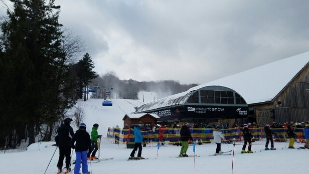 Mount Snow - was so great today. wow - ©anonymous