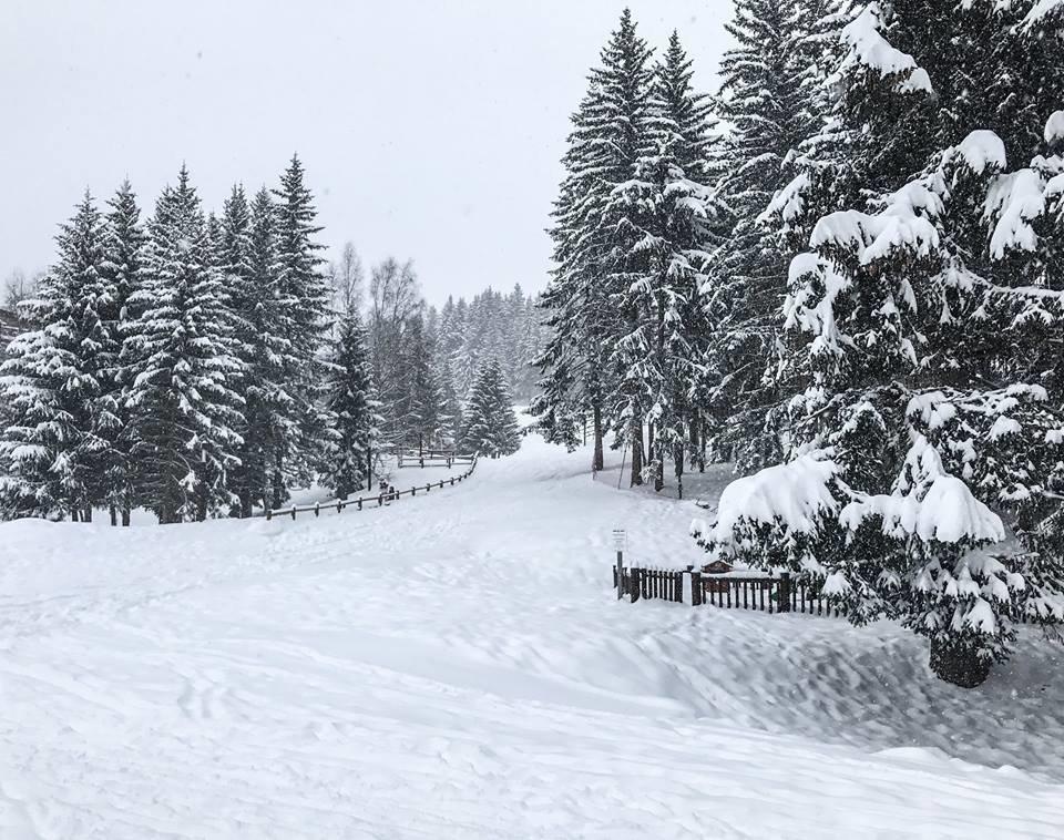 Les Arcs sous la neige (4 fév. 2017) - ©Les Arcs/Facebook