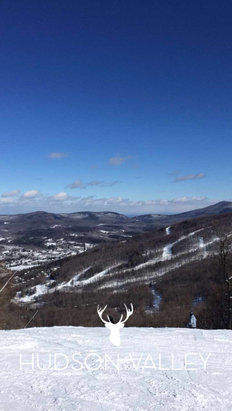 Windham Mountain - Saturday 2/4/17 Conditions were the best of the season so far, all trails were open and the woods were a lot of fun. Still some powder on the mountain  - ©Matt's iphone