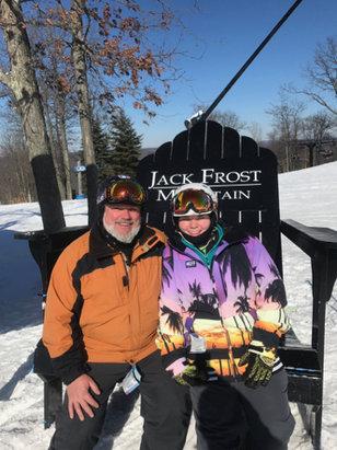 Jack Frost - Bluebird day  - ©pat's iPad