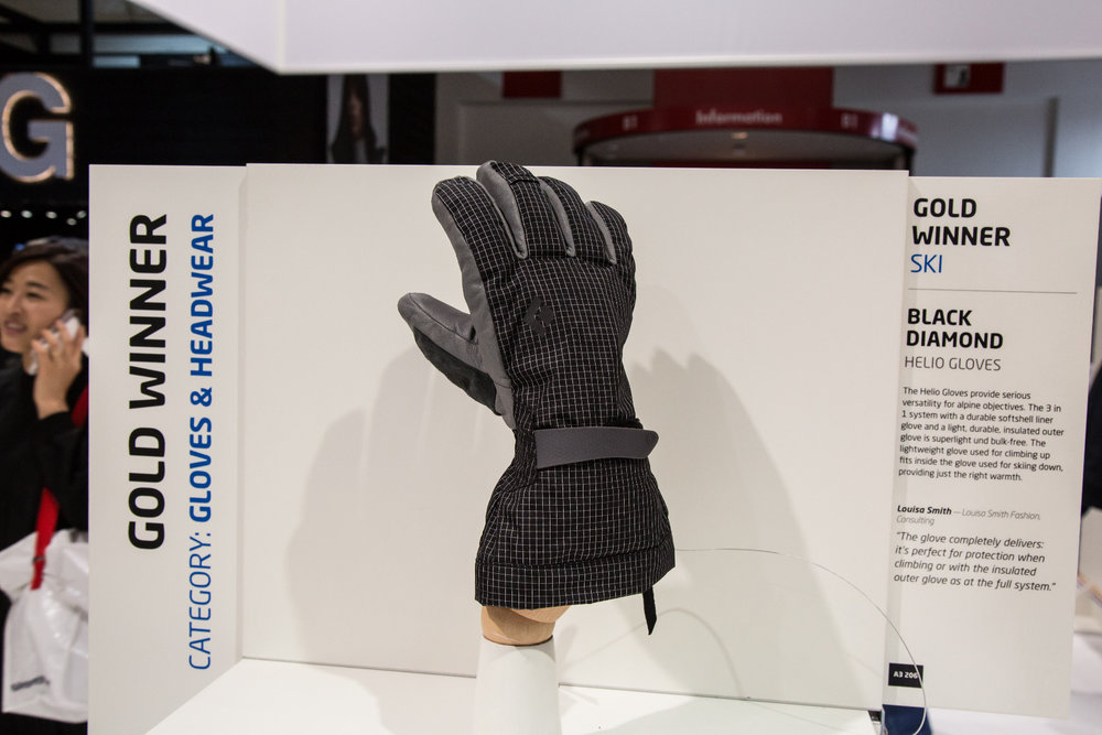 Black Diamond Helio Gloves - ©Skiinfo
