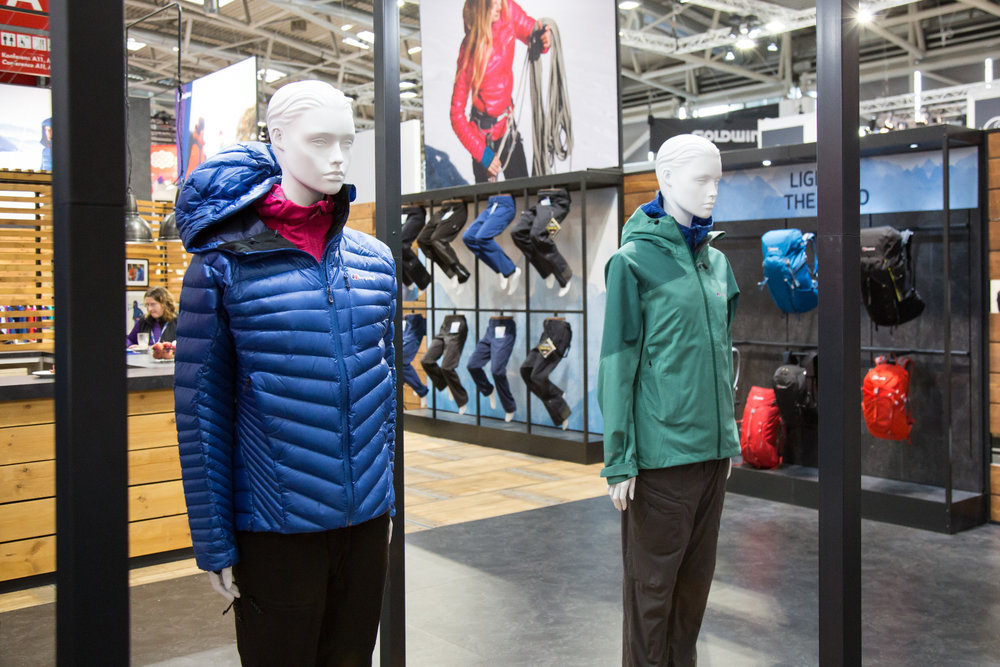 ISPO 2017 : Sur le stand Berghaus - ©Skiinfo