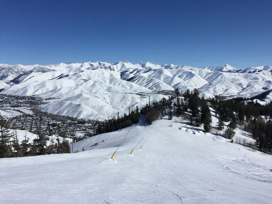 Sun Valley - Baldy is back in business! - ©Billy's I Phone