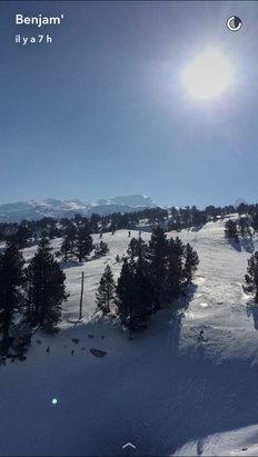 La Pierre St Martin - Assez bonne neige et conditions de printemps !      - ©Iphone de Benjamin P.