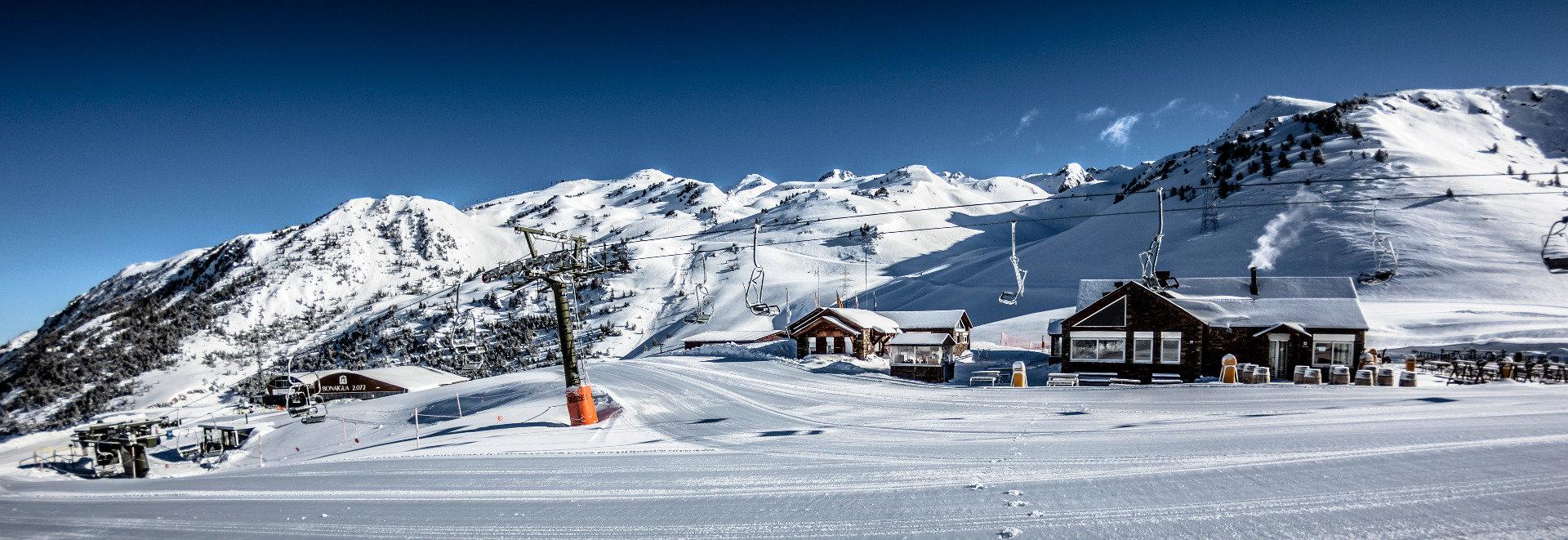 Sur le domaine skiable de Baqueira Beret - ©Station de Baqueira Beret