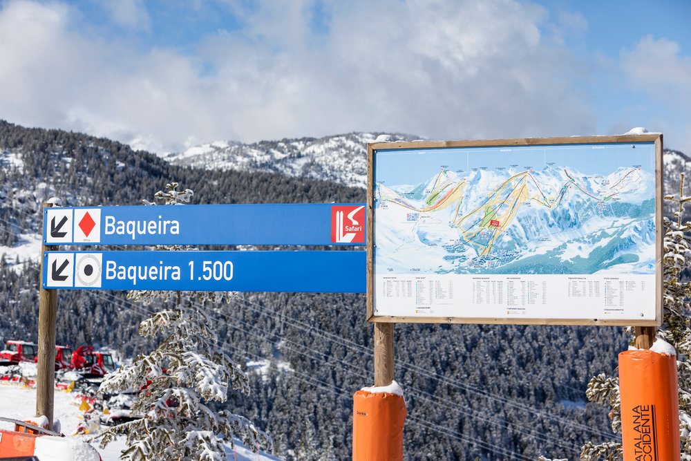 En piste ! Direction les pistes de ski de Baqueira Beret... - ©Station de Baqueira Beret
