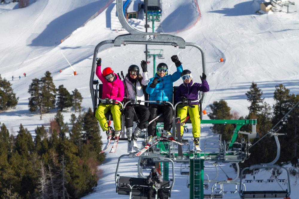 En route pour le domaine skiable de Espot Esquí - ©Station de ski de Espot Esquí