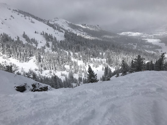 Kirkwood - Champagne powder. Colorado can get lost. Today was epic too to bottom. Waist deep and still able to ride out. Iawesome right now - ©Robert Knowles's iPhone