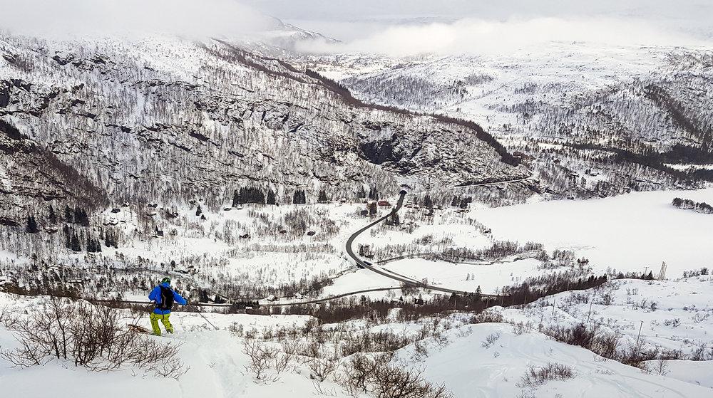Nå er det 25 cm nysnø og nydelige forhold i Eikedalen Skisenter. Alt ligger til rette for en strålende vinterferieuke. - ©Arild Gravdal