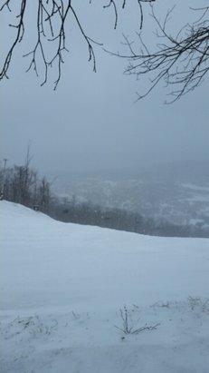 Blue Mountain - finally snow - ©anonymous