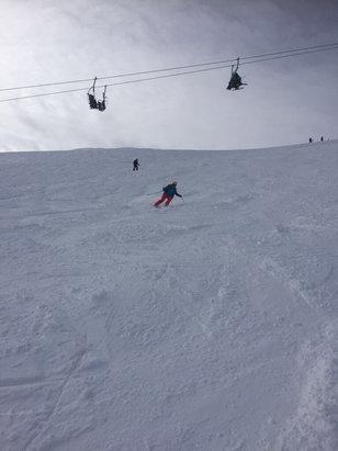 Obertauern - Super Pisten mit viel Neuschnee  - ©Biancas iPhone