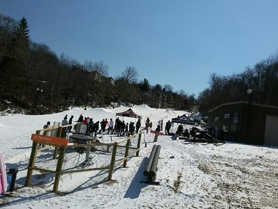 Beech Mountain Resort - The Park! For the snowboarders, it's great. - ©grahamcl07