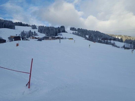 Skicircus Saalbach Hinterglemm Leogang Fieberbrunn - plenty of new snow.nice resort  - ©nkwiecien1984