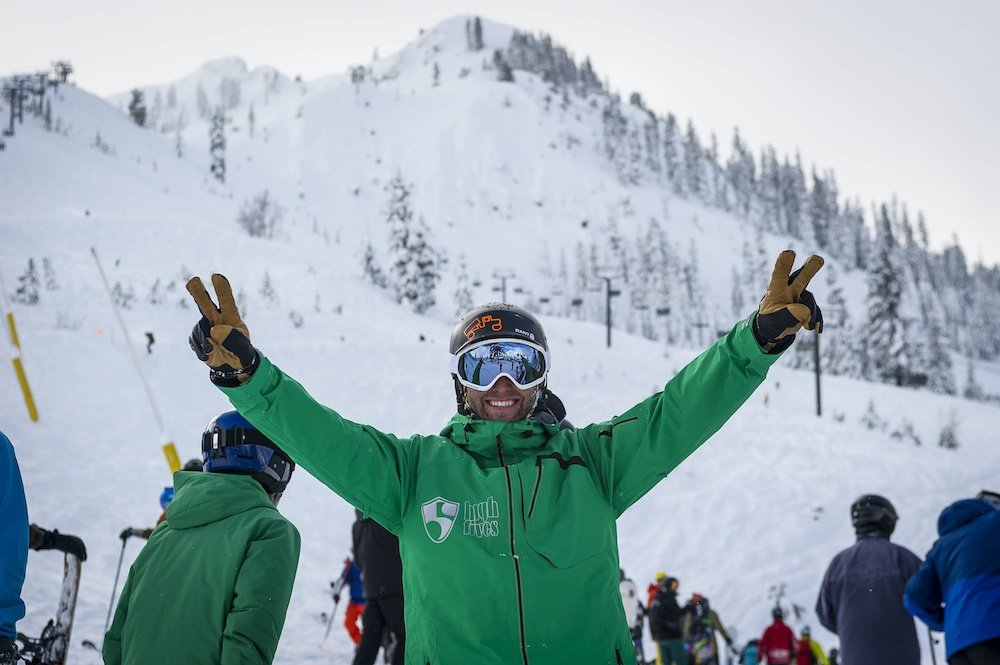 Squaw Valley / Alpine Meadows is holding onto one of the season's biggest snowpacks as we move closer to the first official day of spring. - ©Squaw Valley / Alpine Meadows