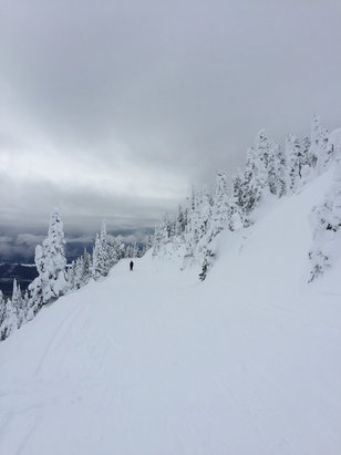 Whitefish Mountain Resort - One of the best days skiing ever.... excellent conditions. Absolutely awesome. - ©RPatters's iPhone6
