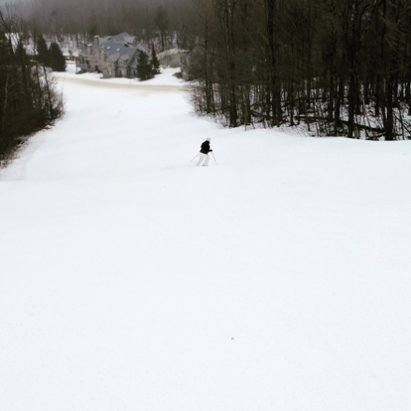 Okemo Mountain Resort - The soft snow has gone back to being hard packed with the dropping temperatures. Conditions are solid for this time of year. It was a great week for us. - ©jf
