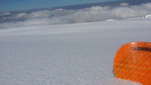 La Pierre St Martin - il faut skier entre 9h et 14h maximum. Après la neige et vraiment trop lourde et il faut pousser pour avancer sur les pistes bleues... - ©gael.tanguy