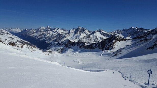 Kaunertaler Gletscher - Top Pisten Top Wetter!  Ab Mittag ab Mittelstation etwas sulzig aber noch im Rahmen. - ©zh
