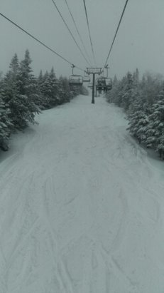 Stowe Mountain Resort - No lines. Great visibility. Maybe 6