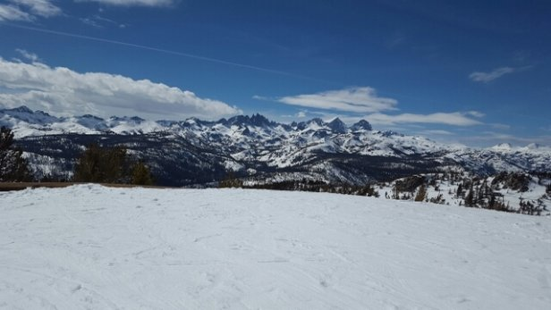 Mammoth Mountain Ski Area - Backside of mountain - ©anonymous