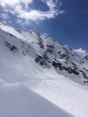 Snowbird - Some things are wealth the extra effort.  Fabulous day!  Thank you Snowbird - ©jeff lackey's iPhone
