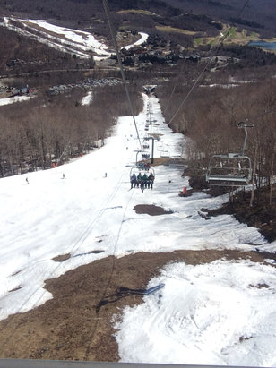 Stowe Mountain Resort - Bluebird & corn conditions, a great way to end an big season of lift access. With 71