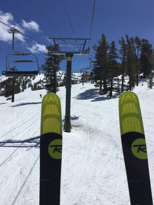 Heavenly Mountain Resort - Horrible conditions! Stay home! No seriously, perfect spring conditions.  - ©Litigation-Tech
