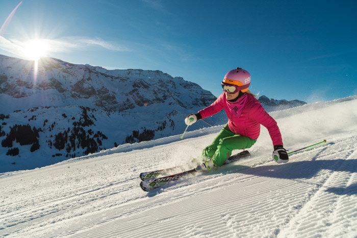 Skifahren in Adelboden - ©Adelboden Tourismus