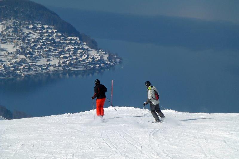 Wunderschöne Aussicht im Skigebiet Aeschi - ©Aeschi Tourismus