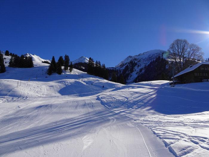 Das Skigebiet Diemtigtal Springenboden ist bietet Pisten und Angebote für Jung und Alt. - ©Skilifte Springenboden