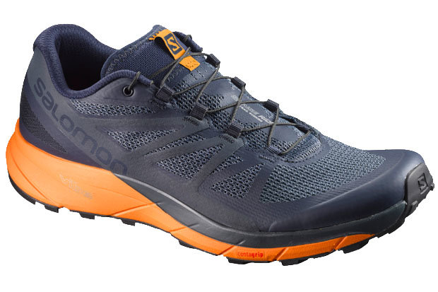 Salomon Sense Ride Shoes: $120 Tackle your favorite terrain with these breathable, lightweight trail running shoes from Salomon. The Sense Ride provides plenty of cushion for all-day comfort, mesh overlays, quicklaces and a compressed EVA midsole.