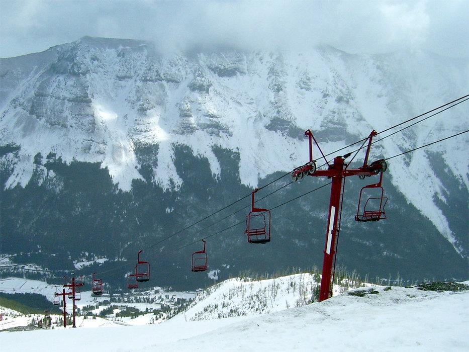 Lift at Castle Mountain, Alberta
