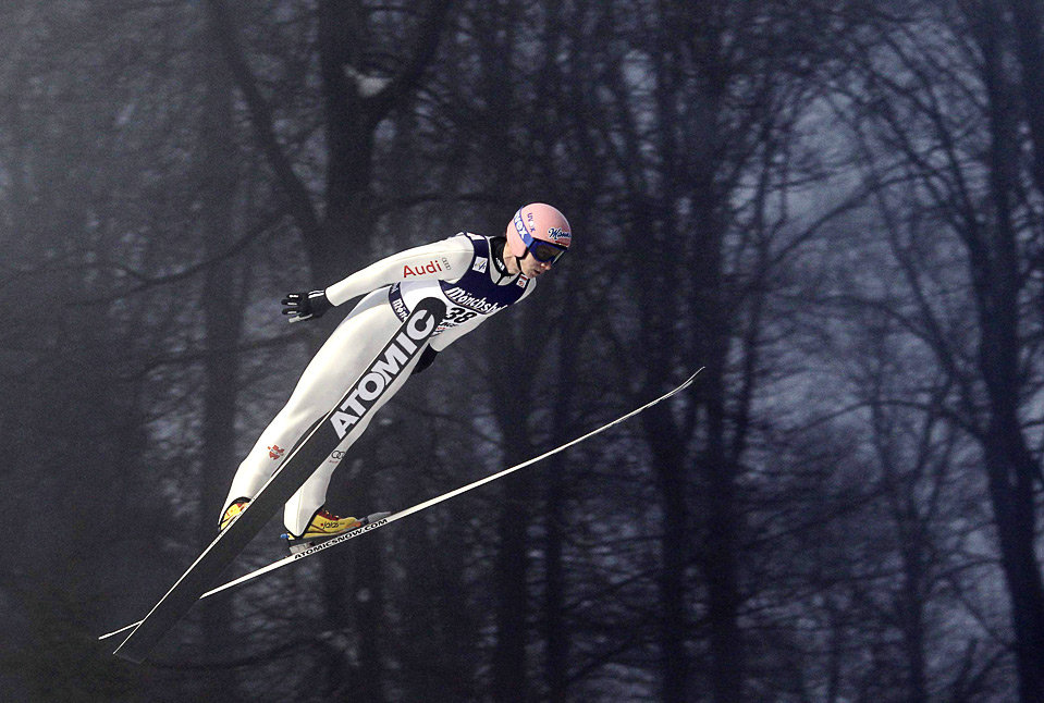 Ski jumper at Willingen, Germany