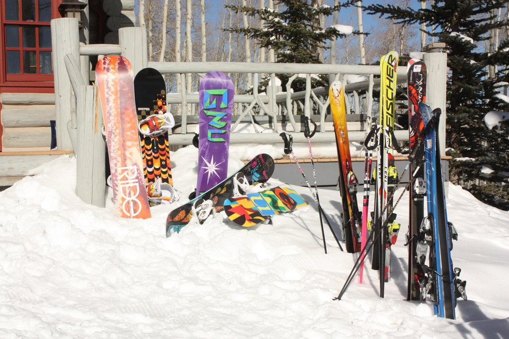 Ski hire or take your own equipment to the slopes? - ©James Young