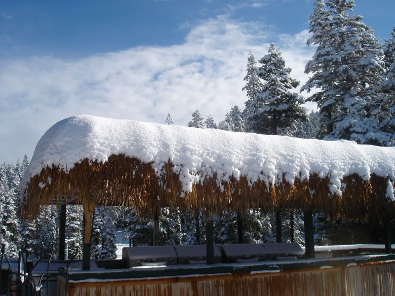 A view of Sierra-at-Tahoe, California in November, 2007