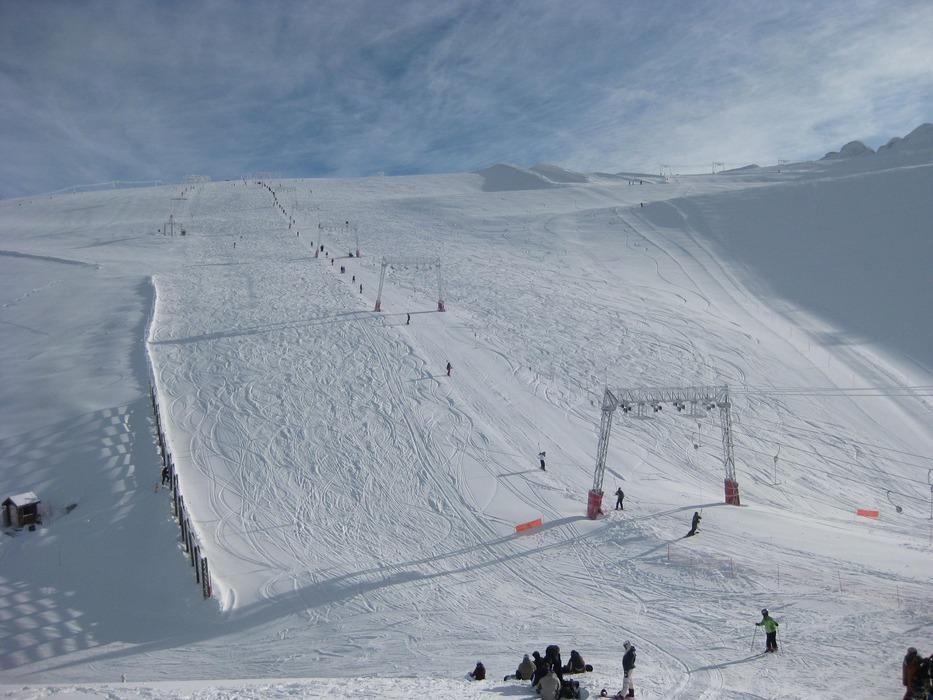 Autumn skiing in Les Deux Alpes - ©Les Deux Alpes Tourism