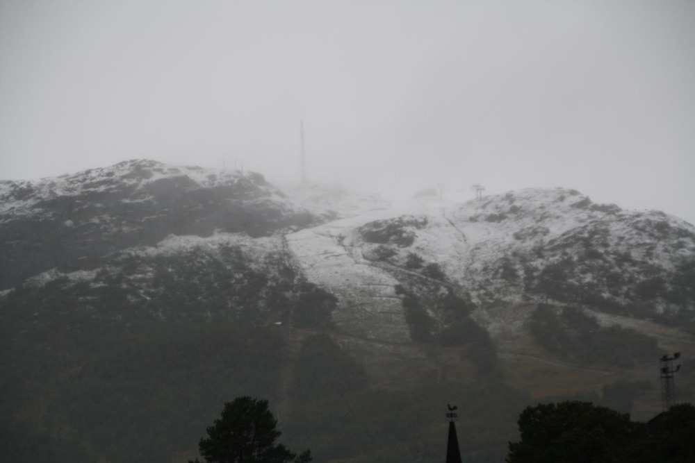 September snow at Hovden - 12. sept 2012