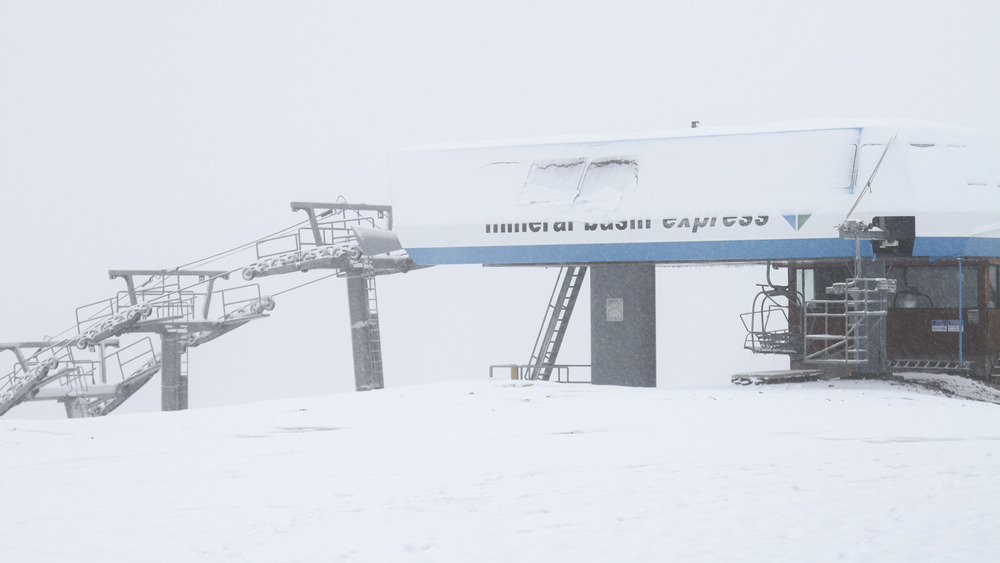 September 25th snow at Snowbird, Utah - ©Snowbird