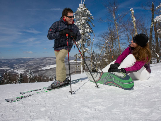 Snowshoe Resort was rated #1 Overall Resort in the Southeast by OnTheSnow readers in 2012. Photo Courtesy of Snowshoe.