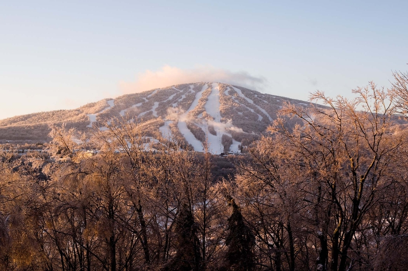 Early morning at Stratton Mountain Resort. Photo Courtesy of Stratton Mountain Resort.
